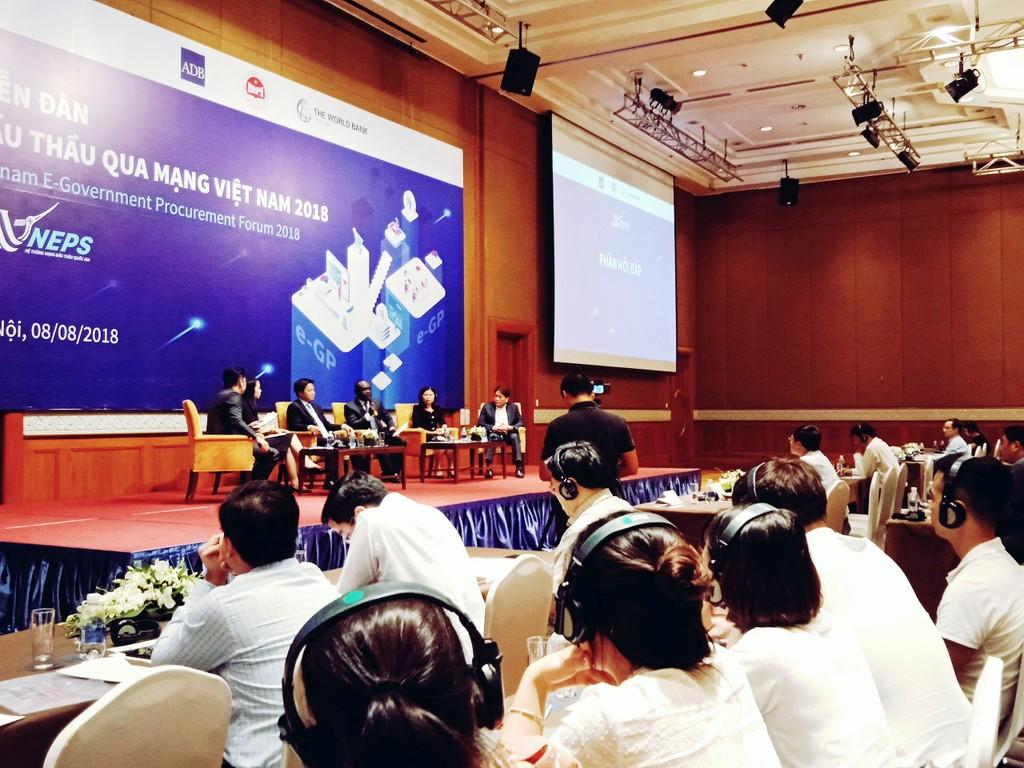 Khai mạc Diễn đàn Đấu thầu qua mạng Việt Nam 2018 - ảnh 9