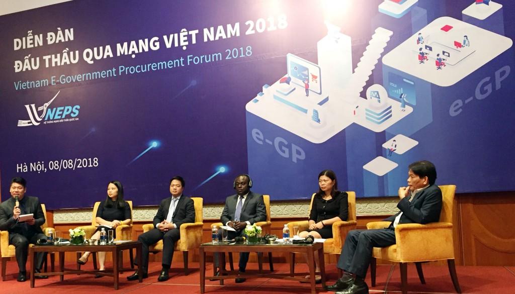 Khai mạc Diễn đàn Đấu thầu qua mạng Việt Nam 2018 - ảnh 3