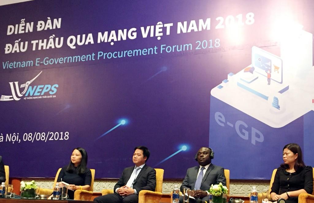 Khai mạc Diễn đàn Đấu thầu qua mạng Việt Nam 2018 - ảnh 7