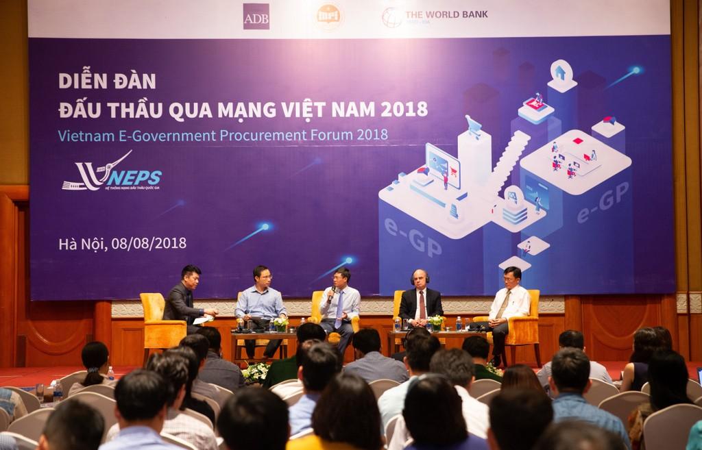Khai mạc Diễn đàn Đấu thầu qua mạng Việt Nam 2018 - ảnh 11