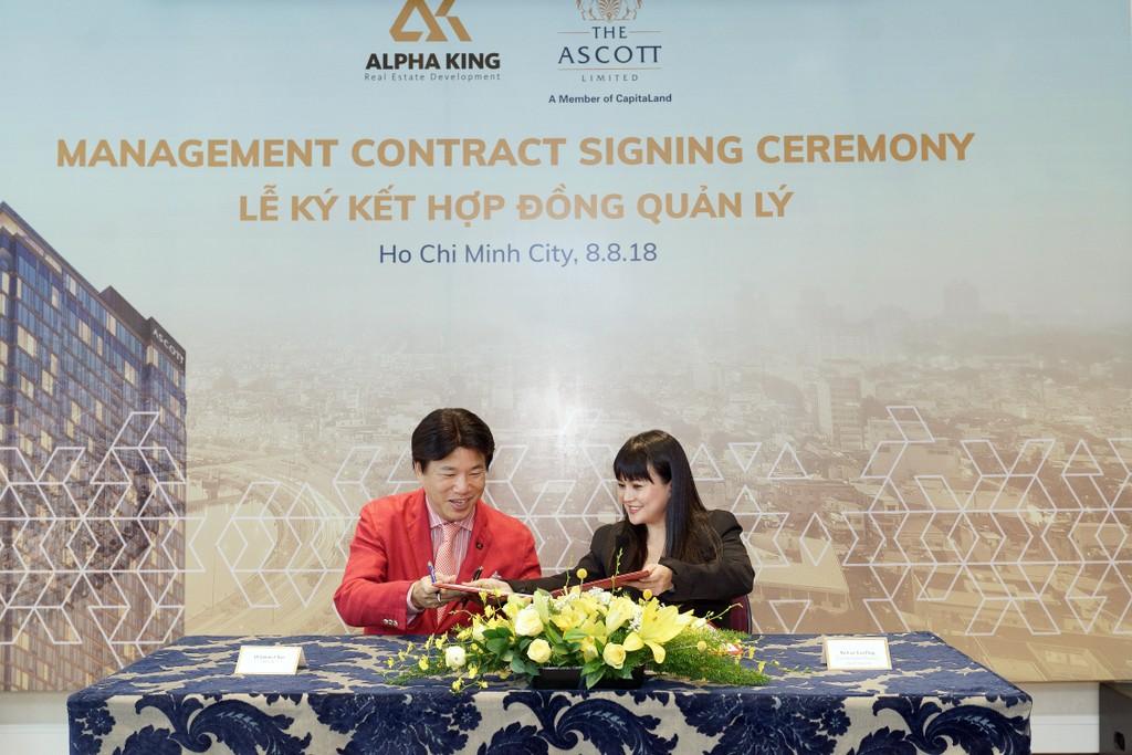 Sự hợp tác giữa Alpha King và Ascott hứa hẹn sẽ mang lại trải nghiệm sống cao cấp và sự an toàn, tiện nghi tối đa cho cư dân