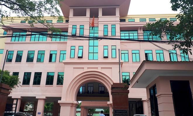 Trụ sở Sở Kế hoạch và Đầu tư tỉnh Thanh Hóa.