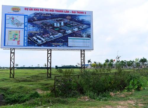 Hàng trăm dự án bỏ hoang tại Hà Nội - ảnh 1