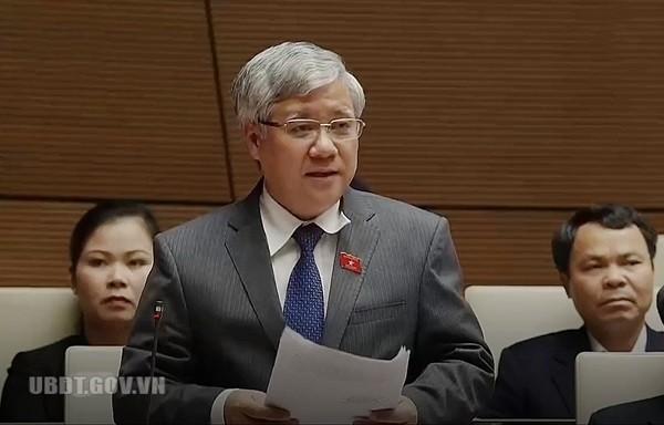 Bộ trưởng, Chủ nhiệm Ủy ban Dân tộc trả lời chất vấn - ảnh 5