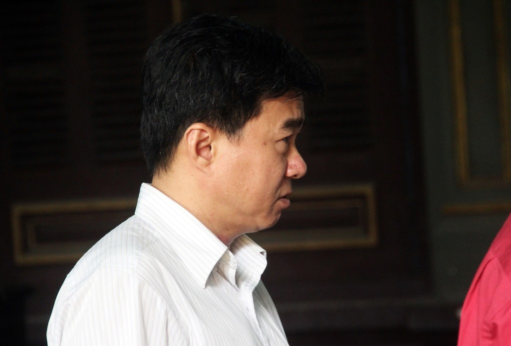 Bị cáo Lê Quang Trí.