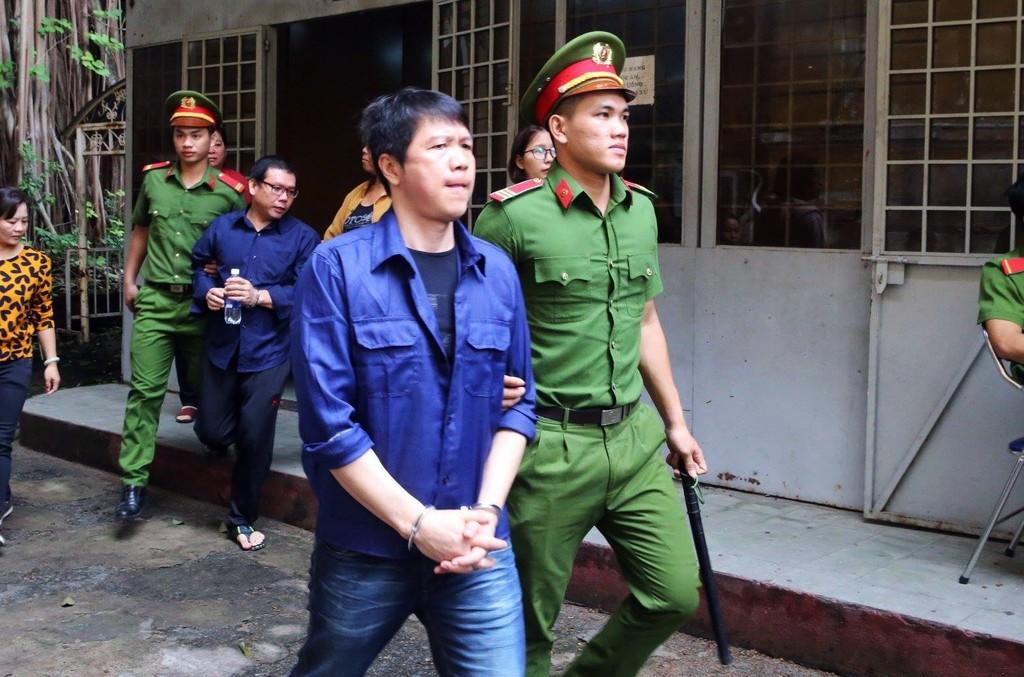 Bị cáo Nguyễn Cảnh Chân.