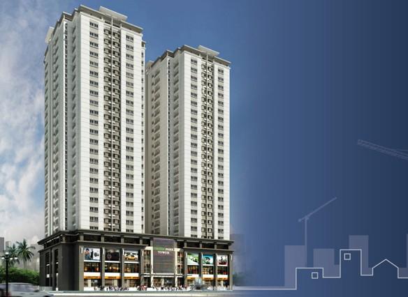 Hình ảnh Dự án Tòa nhà chung cư cao tầng CT1 - CT2 trên website của chủ đầu tư Constrexim.