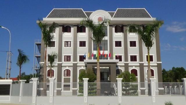 Trụ sở Cục Thi hành án dân sự tỉnh Quảng Nam.