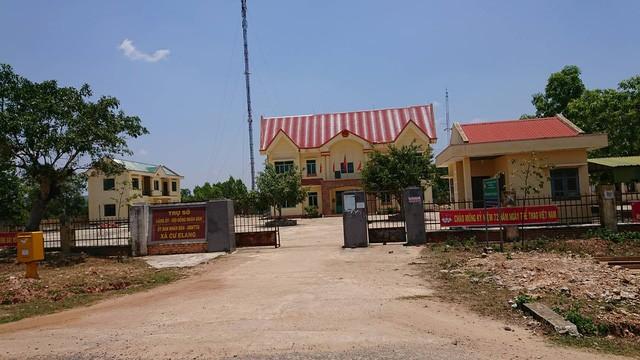 UBND xã Cư Elang nơi 3 cán bộ xã bị bắt từng công tác