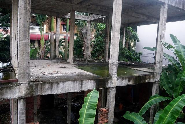 Cận cảnh nhem nhuốc của khu biệt thự bị bỏ hoang gần 10 năm giữa lòng Sài Gòn - ảnh 6