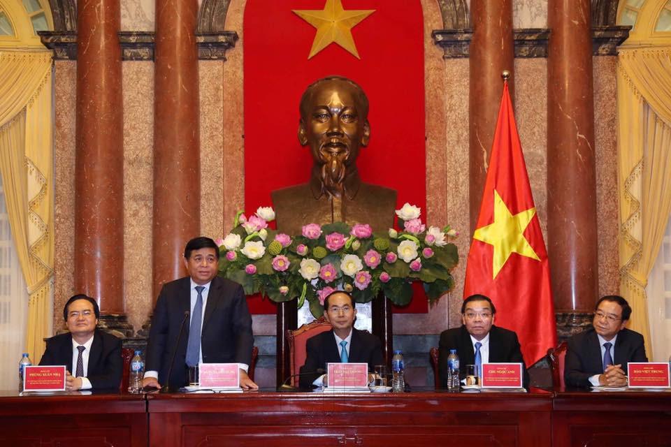 Chủ tịch nước Trần Đại Quang: Đoàn kết trí tuệ Việt góp sức đưa đất nước phát triển - ảnh 2