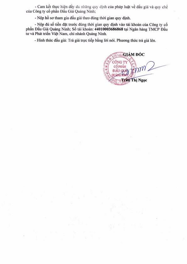 Ngày 31/8/2018, đấu giá lô phương tiện vận tải thanh lý tại Quảng Ninh - ảnh 2