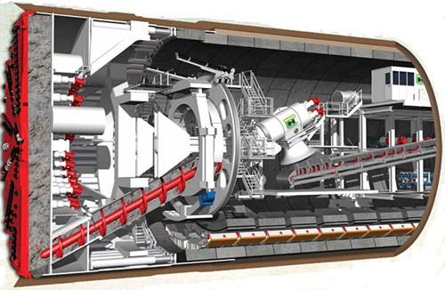 Metro hơn tỷ USD ở Hà Nội dùng công nghệ đào hầm của Italy - ảnh 1