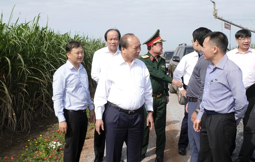 Thủ tướng thăm một số mô hình nông nghiệp công nghệ cao tại Tây Ninh - ảnh 1