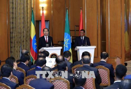 Chủ tịch nước Trần Đại Quang hội đàm với Tổng thống Ethiopia - ảnh 2