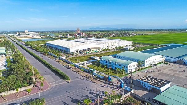 Một góc Khu kinh tế Đông Nam Nghệ An