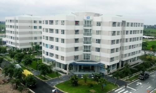 Một dự án nhà ở xã hội tại Hà Nội.