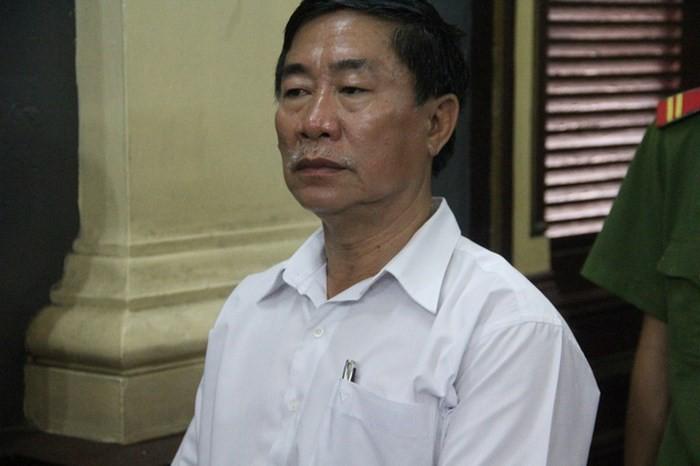 Bị can Lâm Kim Dũng cháu rể của bà Hứa Thị Phấn.