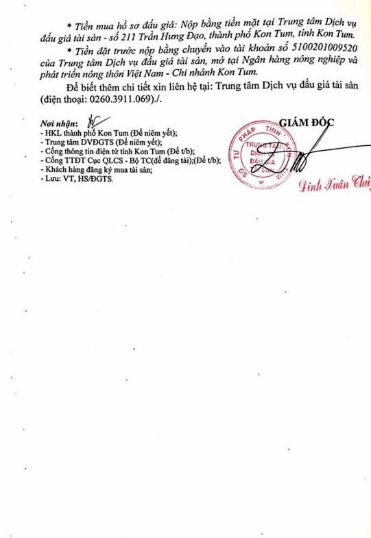 Ngày 7/9/2018, đấu giá gỗ xẻ, tròn nhóm III, V và VII tại tỉnh Kon Tum - ảnh 2