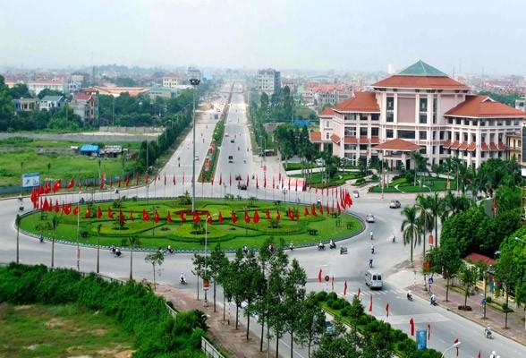 Một góc thành phố Bắc Ninh