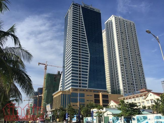 Dự tổ hợp khách sạn và căn hộ chung cư cao cấp Sơn Trà tự ý chuyển đổi công năng sai phép.