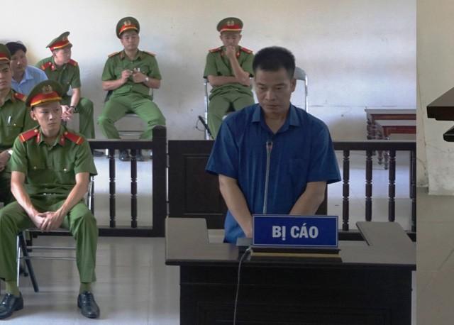 Bị cáo Lương Duy Kỳ tại phiên xét xử