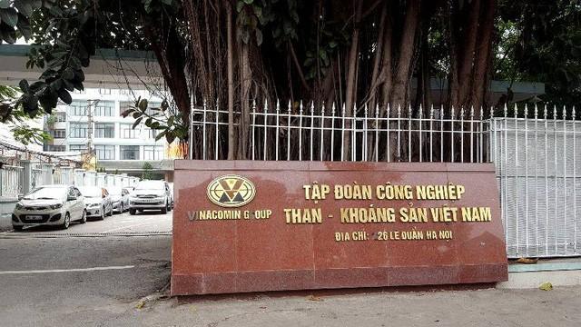 Trụ sở Tập đoàn Công nghiệp Than - Khoáng sản Việt Nam.