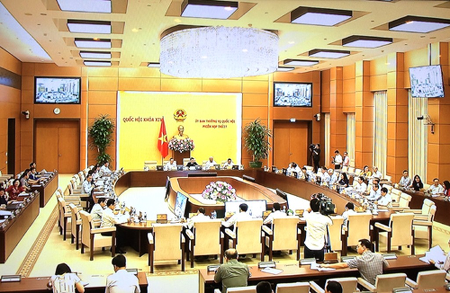 Khai mạc phiên họp thứ 27 của UBTVQH. Ảnh: VGP