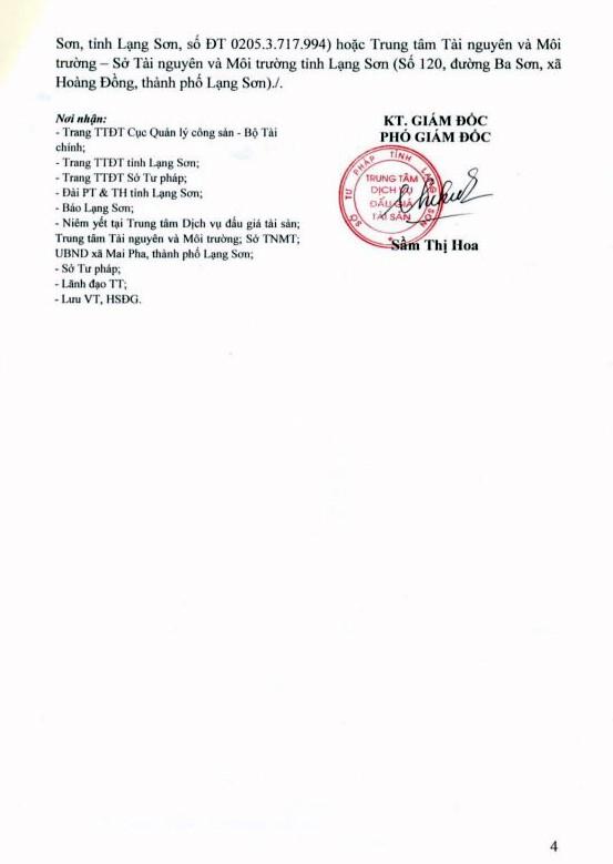 Ngày 27/9/2018, đấu giá quyền sử dụng đất tại thành phố Lạng Sơn, Lạng Sơn - ảnh 4