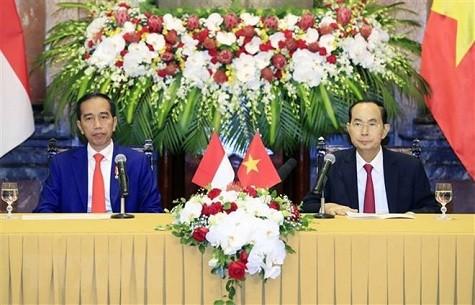 Chủ tịch nước hội đàm với Tổng thống Indonesia - ảnh 2
