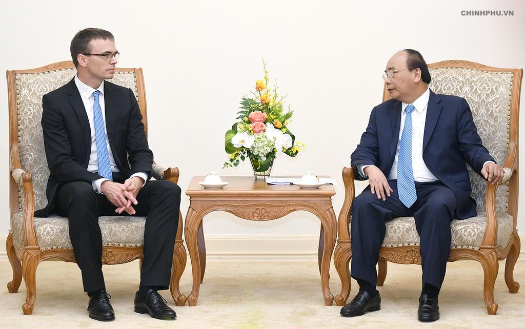 Thủ tướng hoan nghênh các chuyên gia Estonia về chính phủ điện tử sang Việt Nam - ảnh 1