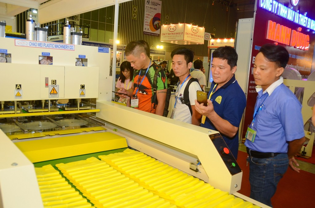 520 nhà cung cấp hàng đầu ngành nhựa và cao su tham gia triển lãm VietnamPlas 2018