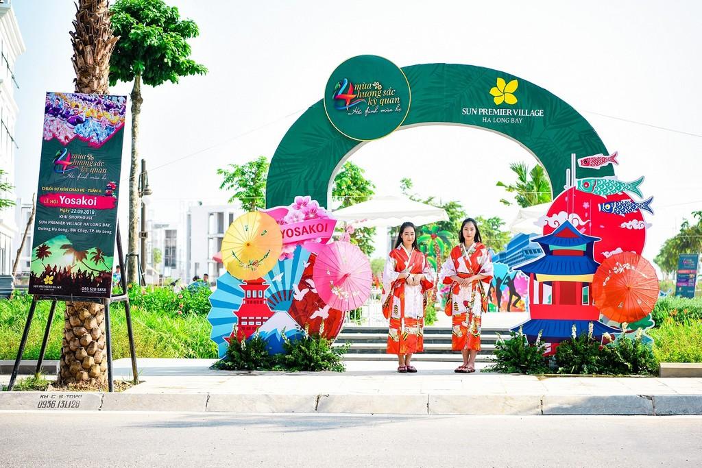 Lễ hội Yosakoi: Dấu ấn Nhật Bản bên vịnh Hạ Long - ảnh 1