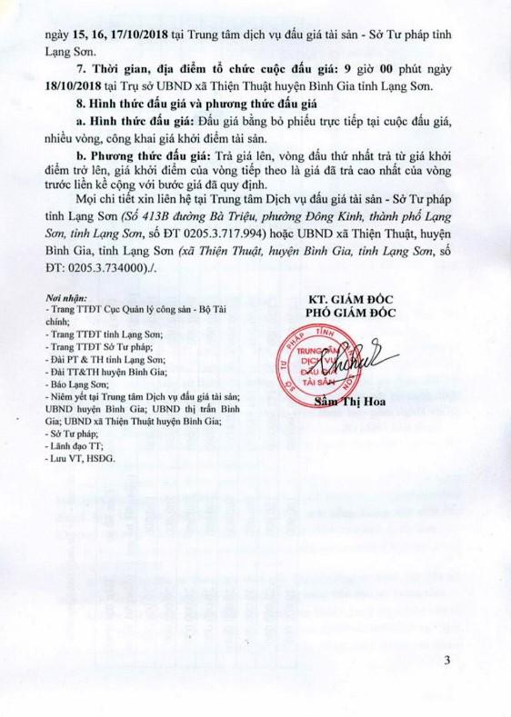 Ngày 18/10/2018, đấu giá quyền sử dụng 8 lô đất tại huyện Bình Gia, tỉnh Lạng Sơn - ảnh 3
