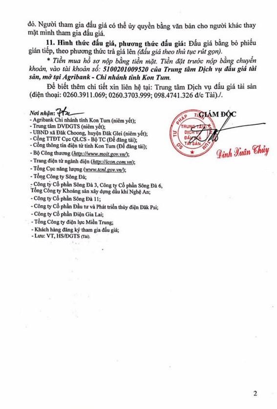 Ngày 3/10/2018, đấu giá quyền sử dụng đất, quyền sở hữu nhà và các tài sản khác gắn liền với đất tại huyện Đắk Mek, Kon Tum - ảnh 2