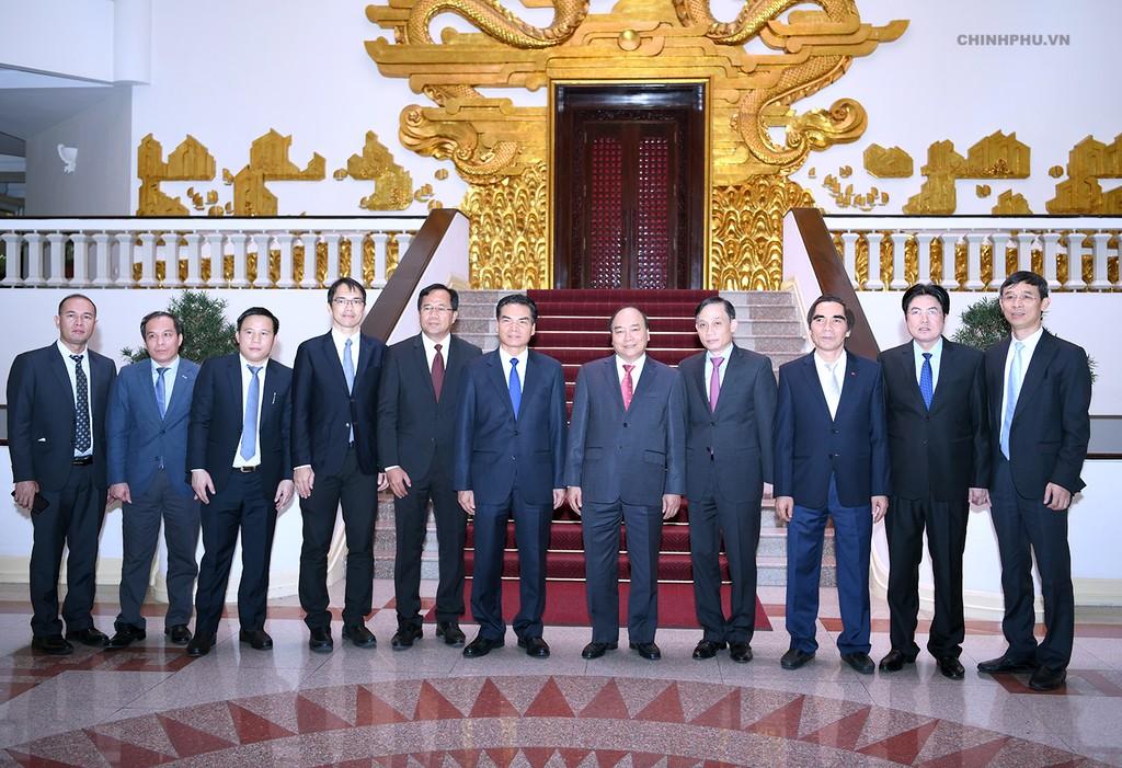Thủ tướng tiếp Bộ trưởng, Chủ nhiệm Văn phòng Phủ Thủ tướng Lào - ảnh 1