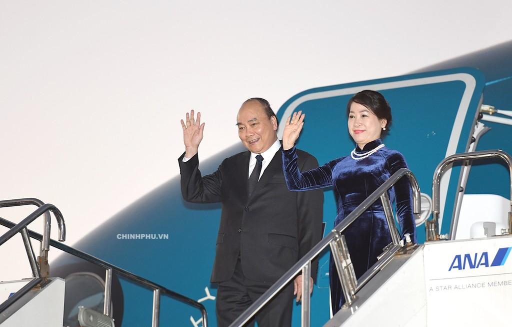 Thủ tướng Nguyễn Xuân Phúc đã đến Tokyo, Nhật Bản - ảnh 1