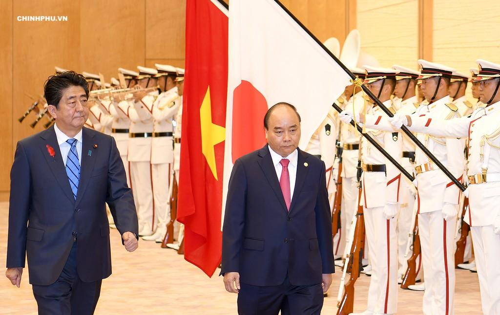 Lễ đón Thủ tướng Nguyễn Xuân Phúc thăm Nhật Bản - ảnh 2