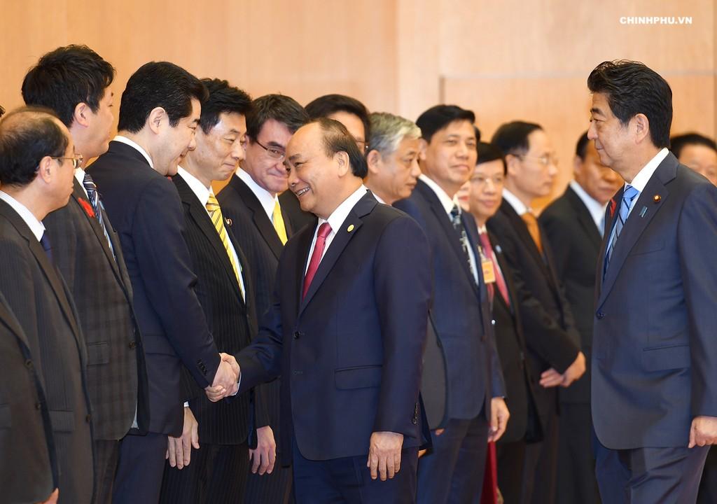 Lễ đón Thủ tướng Nguyễn Xuân Phúc thăm Nhật Bản - ảnh 3