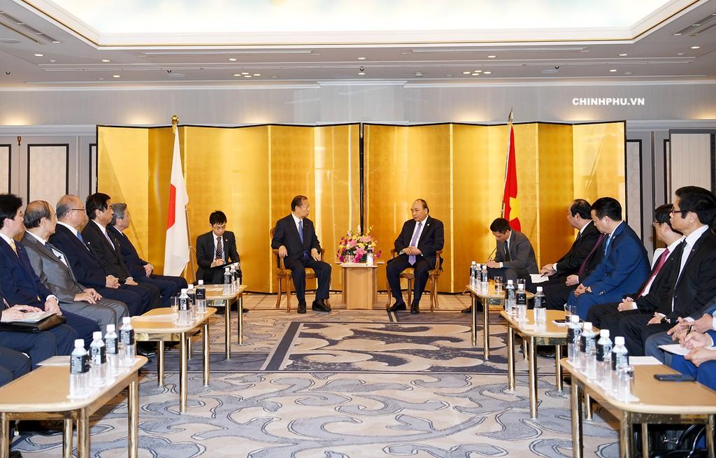 Thủ tướng tiếp Chủ tịch Liên minh Nghị sĩ hữu nghị Nhật - Việt - ảnh 1