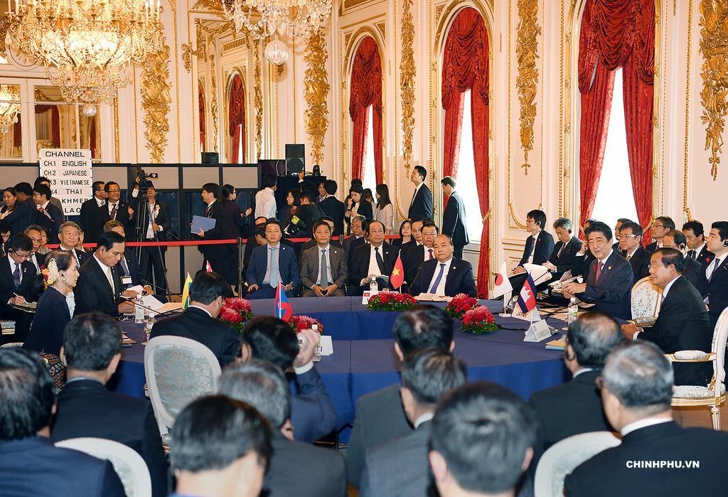 Thủ tướng dự Hội nghị Cấp cao hợp tác Mekong-Nhật Bản - ảnh 2