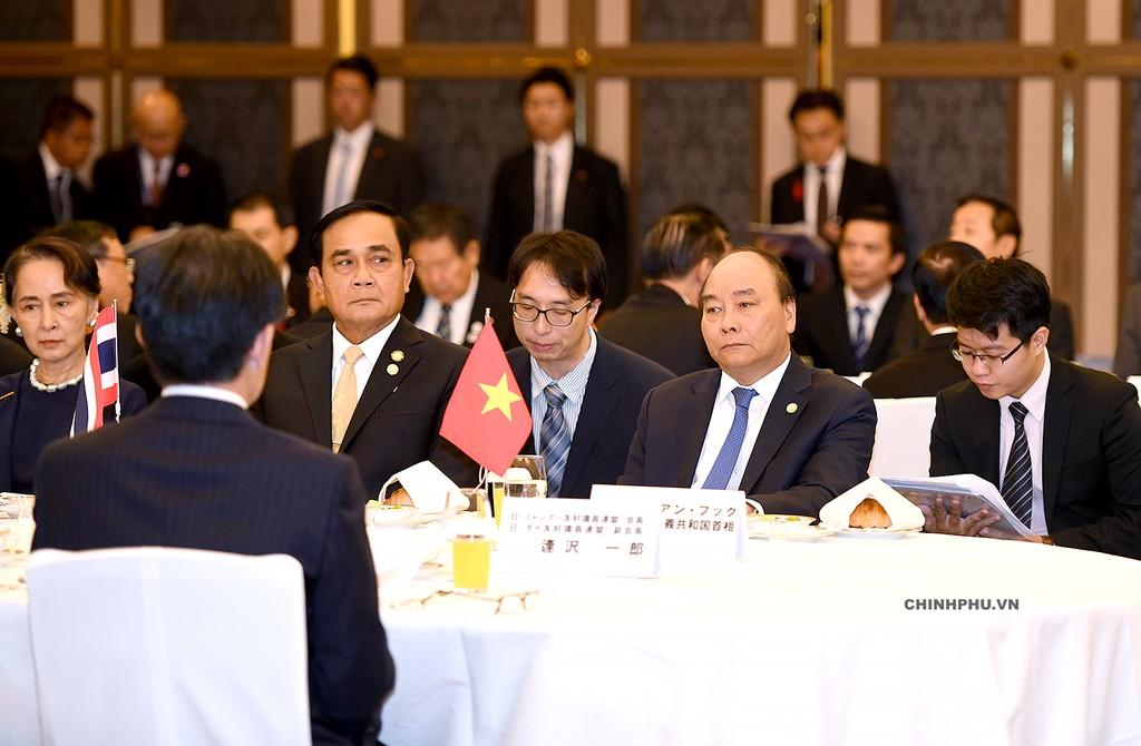 Thủ tướng dự Hội nghị Cấp cao hợp tác Mekong-Nhật Bản - ảnh 4