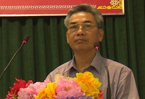 Ông Nguyễn Văn Hoà. Ảnh: UBND huyện Thanh Thuỷ.