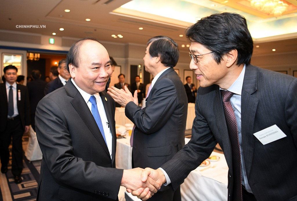 Thủ tướng tọa đàm với các doanh nghiệp công nghệ cao Nhật Bản - ảnh 1