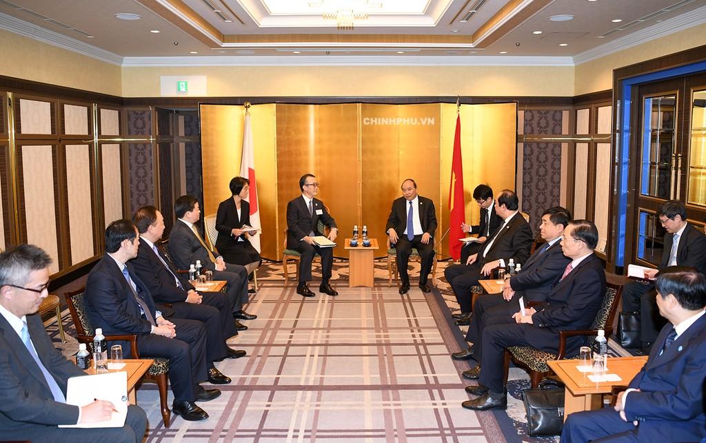 Thủ tướng tọa đàm với các doanh nghiệp công nghệ cao Nhật Bản - ảnh 3