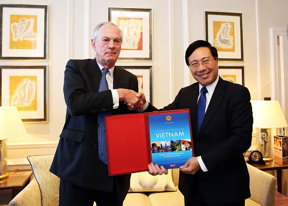 Anh coi trọng quan hệ kinh tế với Việt Nam - ảnh 1