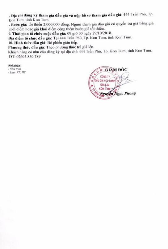 Ngày 29/10/2018, đấu giá gỗ xẻ, gỗ tròn tại Kon Tum - ảnh 2