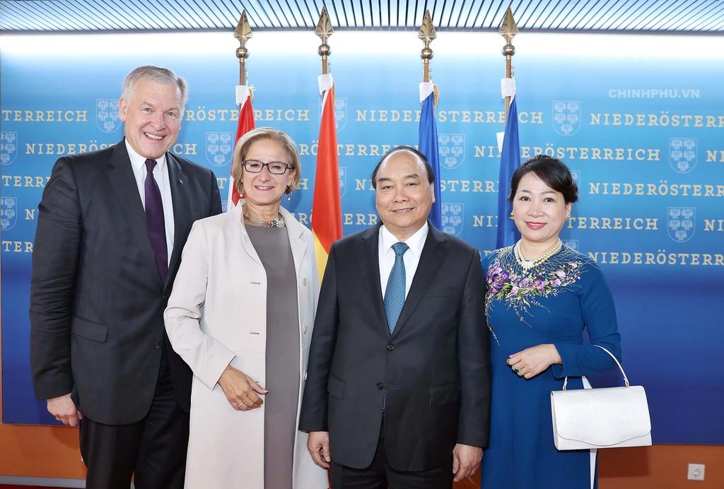 Khuyến khích hợp tác giữa các đối tác Việt Nam và bang Hạ Áo - ảnh 1