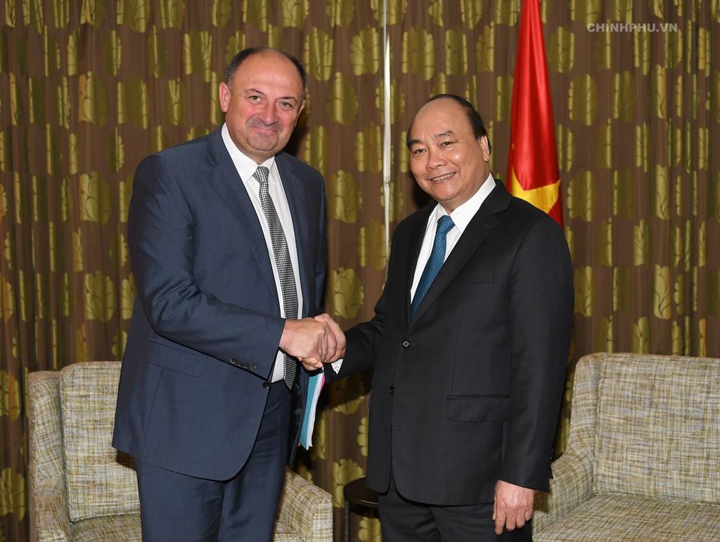Thủ tướng tiếp một số Bộ trưởng-Chủ tịch vùng của Bỉ - ảnh 3