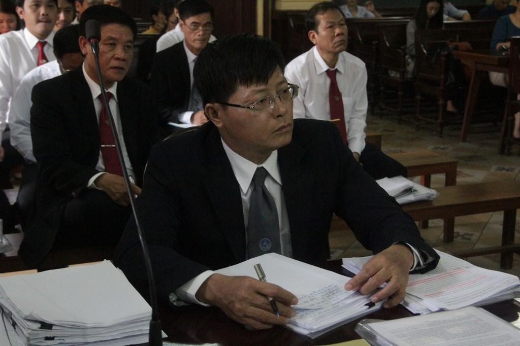 Tranh luận gay gắt tại phiên tòa Vinasun kiện Grab - ảnh 1